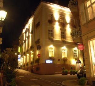 Hotel bei Nacht Hotel Merkur