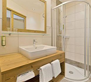 Badezimmer - Doppelzimmer - Saphir - superior Hotel Kristall