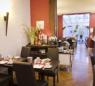 Frühstücksbereich Hotel Residence Bremen