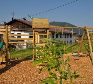 Unser neuer Spielplatz Landhaus Wildschütz
