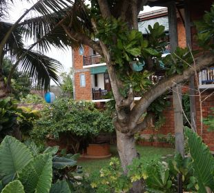 Ein Blick auf das Hotel Hotel Susantha Garden