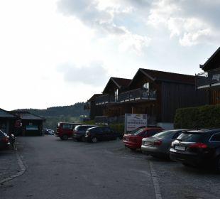 Begrenzte Parkplätze Hotel Bayerischer Wald