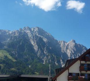 Ausblick vom Pool Hotel Krallerhof