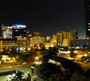 Ausblick bei Nacht Best Western Hotel Bayside Inn