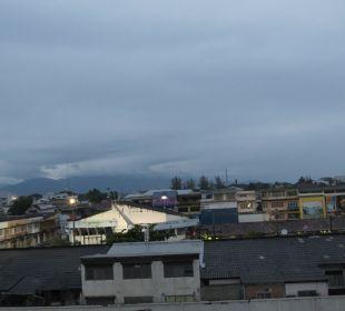 Blick vom Fenster aus Hotel Wiang Inn