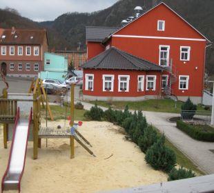 Spielplatz Ferienpark Bodetal