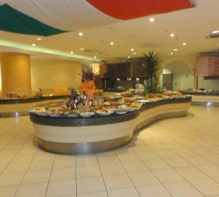 Salatbüffet im Hauptrestaurant