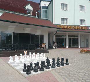 Große Schachspiel Thermenhotel Kurz