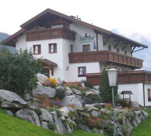 Hausansicht Eingang Ferienhaus Adlerhof