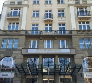 Schöne Fassade  Steigenberger Hotel Thüringer Hof
