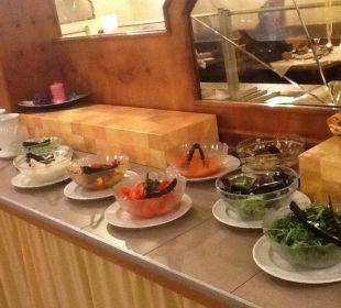 Das Salatbuffet Sonnenhotel Eichenbühl