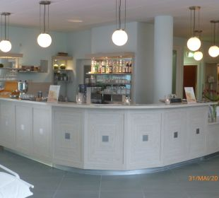 Bar im Wellnessbereich Grand Hotel Binz by Private Palace Hotels & Resorts