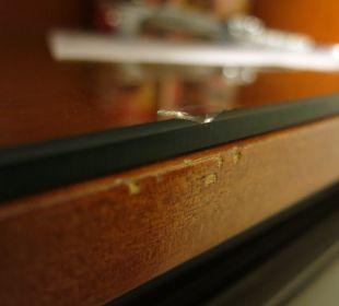 Schäden an Sideboard Hotel Wiesler