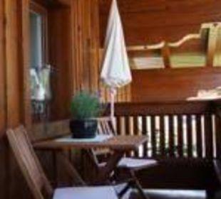 Balkon App. 2 Ferienhaus Monika Winter