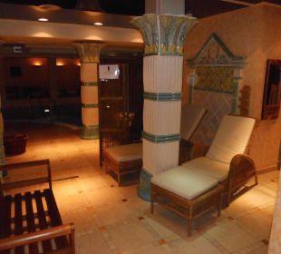 Der Saunabereich in der Sindbadtherme Strandhotel Heringsdorf