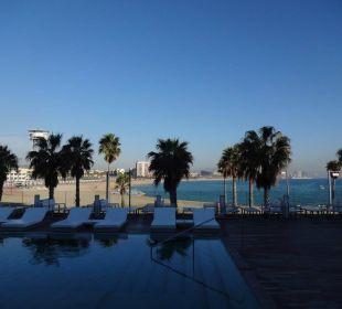 W Barcelona Pool/Strand W Barcelona Hotel