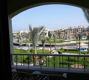 Blick vom Balkon Block 6, 3 Etage Dana Beach Resort