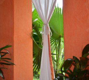 Terrasse der Präsidentensuite Boutique Hotel Quinta Chanabnal