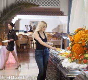 Buffet Hotel El Mouradi Palm Marina