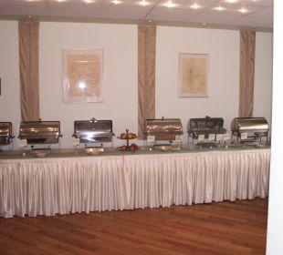 Wurst, Käse, Rührei mit Speck ....... Hotel Werbetal