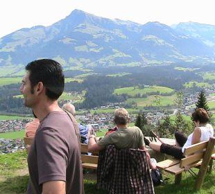 Blick von der Wirtsalm auf Reith Landgasthof Reitherwirt & Jagdhof Hubertus