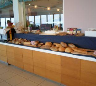 Brotsorten beim Frühstück Hotel Corissia Princess