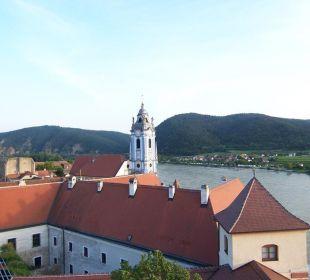 Blick auf die Donau Hotel Schloss Dürnstein