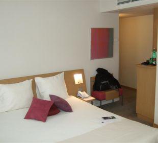Großes Zimmer Hotel Novotel Wien City