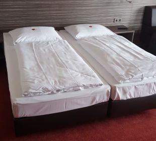 Bett  Hotel Bär