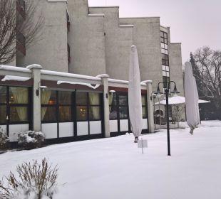 Außenansicht im Winter 1 Parkhotel Brunauer