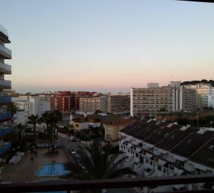 Blick vom Balkon H·TOP Calella Palace