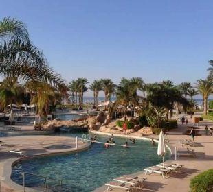 Blick aus unserem Zimmer Stella Di Mare Beach Resort & Spa Makadi Bay