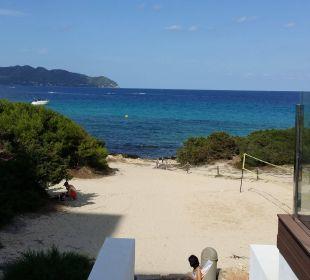 Blick vomPool zum Strand