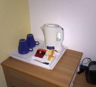 Wasserkochen, Tee, Kaffee, Wecker Hotel Median Hannover Messe