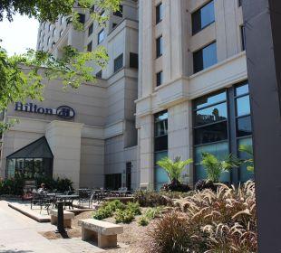 Hoteleingang Hotel Hilton Niagara Falls / Fallsview