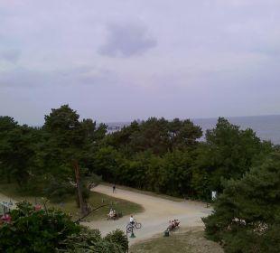 Blick auf die Ostsee Strandhotel Heringsdorf