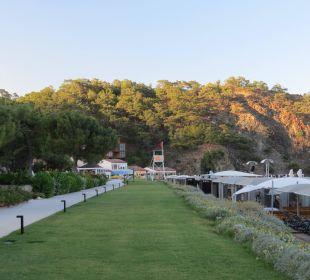 Weg zum Strand Hotel Rixos Premium Tekirova