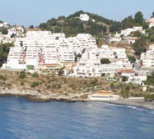 Zimmerausblick Playacalida Spa Hotel