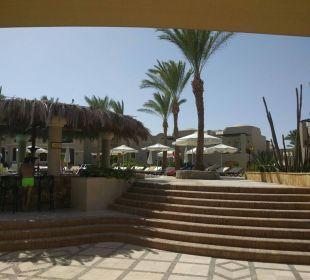 Blick von der Poolbar Hotel Iberotel Makadi Beach