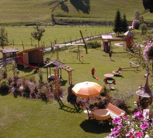Spiel- und Gartenanlage Gästehaus Luggau