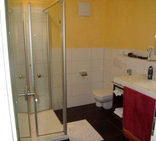 Badezimmer im Komfortzimmer Gasthaus Löwen