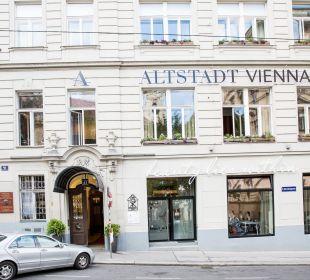 Außenansicht Hotel Altstadt Vienna
