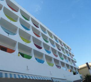 Neue Fassade Hotel Palma Playa - Cactus