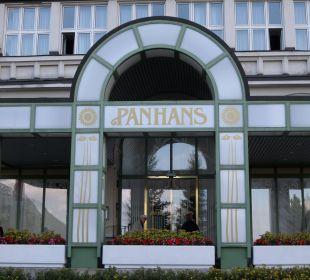 Eingang zum Hotel Hotel Panhans