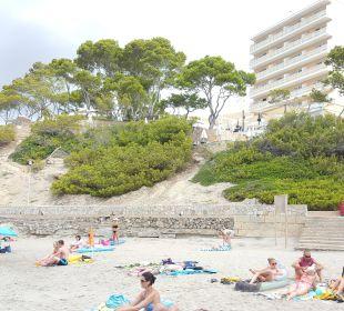 Vom kleine Strand Universal Hotel Lido Park