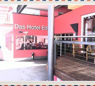 Hotel Eingang von Aussen Das Hotel Eden