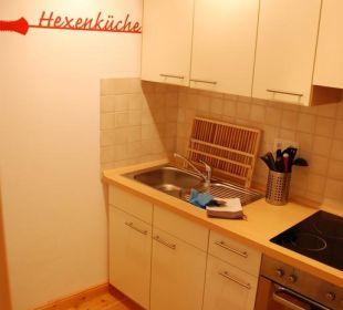 Appartement Red - Küche Seaside Appartements Rügen - Haus Altstadt