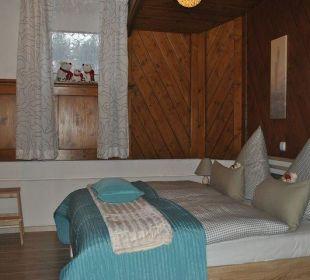 Schlafbereich Wohnung 5 Ferienwohnungen Rebstöckle