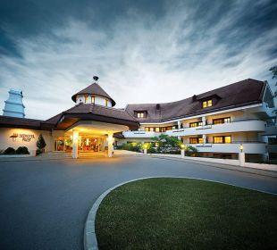 Hotelzufahrt Seehotel Rust