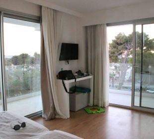 Schon mal so einen Blick vom Bett aus gehabt? Hotel Playa Esperanza
